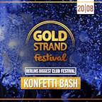 Maxxim Berlin Goldstrand Festival - Konfetti Bash