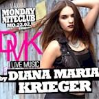 Maxxim Berlin Monday Nite Club - Diana Maria Krieger Live