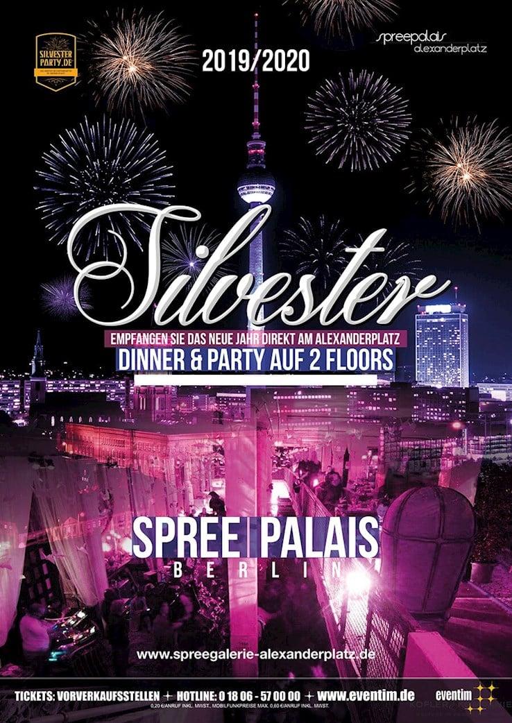 Spreepalais Alexanderplatz Berlin Eventflyer #1 vom 31.12.2019
