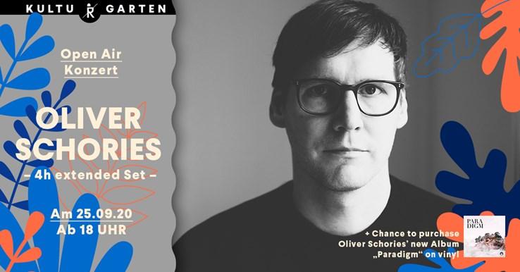 Ritter Butzke 25.09.2020 Oliver Schories (4h extended Set) Open Air @Kulturgarten