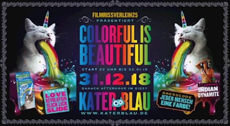 Kater Blau Berlin Eventflyer #1 vom 31.12.2018
