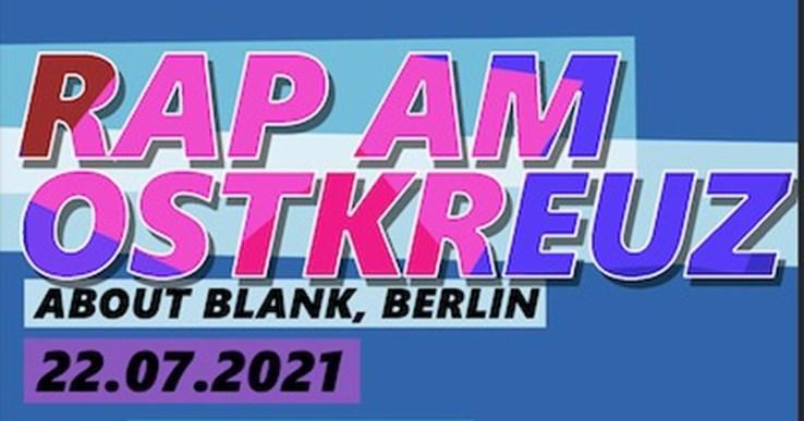 about blank Berlin Eventflyer #1 vom 22.07.2021
