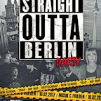 Musik & Frieden Berlin Straight Outta Berlin Party
