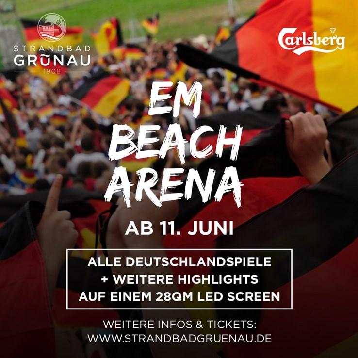 Strandbad Grünau Berlin Eventflyer #1 vom 07.07.2021