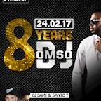 Maxxim Berlin Maxxim Black Friday by Jam Fm 93,6 - 8 Jahre DJ Omso Special