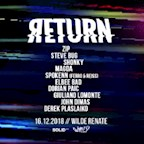 Salon - Zur wilden Renate Berlin Return /w. Zip, Steve Bug, Shonky, Magda & More