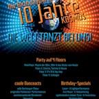 Kosmos Berlin 10 Jahre Kosmos - Die Birthdayparty