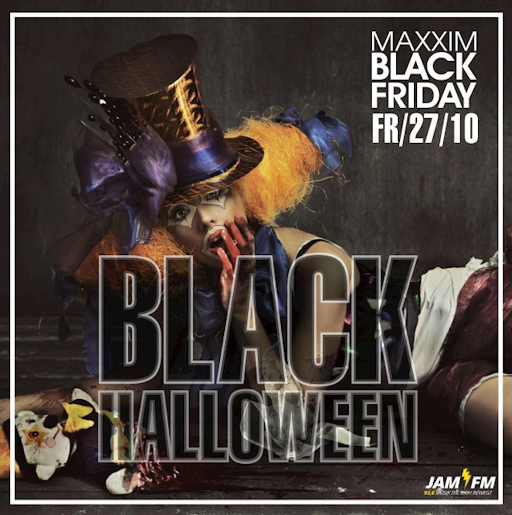 Maxxim Berlin Black Halloween by Jam Fm 93,6