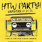 Kino International Berlin HTW Party Wintersemester 2017