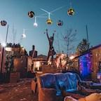 Burg Schnabel Berlin Schleusenufer NYE Festival auf der Lohmühleninsel Kreuzberg auf 8 Floors