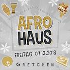 Gretchen Berlin Afro Haus Vol. 23 x Afrobeats x Hip Hop x Dancehall