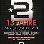 2BE Berlin 13 Jahre 2be Club Birthday Party