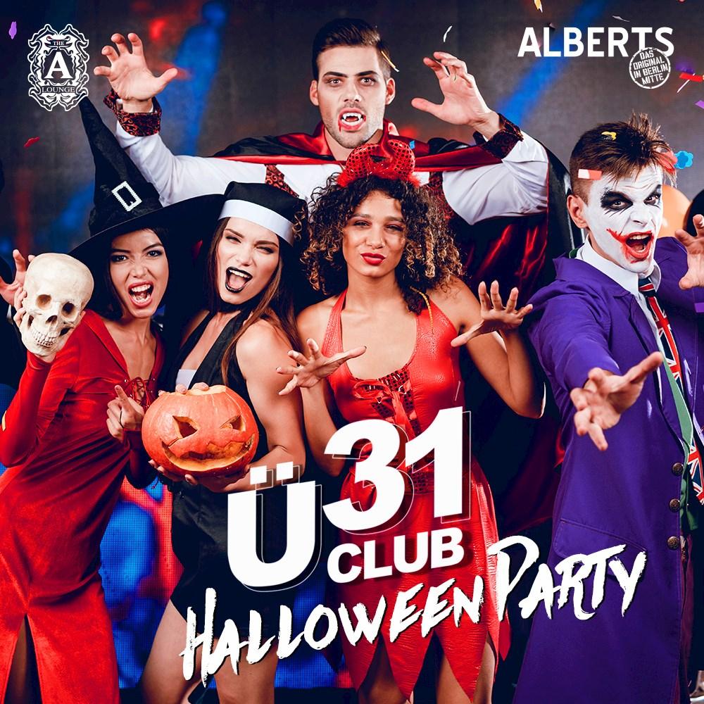 Alberts Berlin Ü31 Club Berlin - Halloween Party
