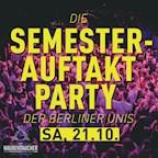 Haubentaucher Berlin Die Semesterauftaktparty der Berliner Unis