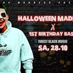 Haus Ungarn  Halloween Hip Hop Madness 1 Year B-Day Bash