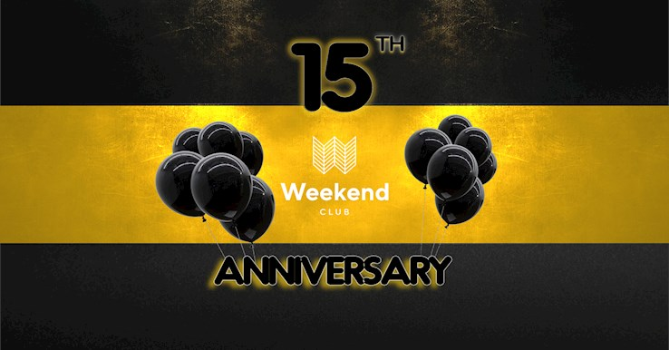 Club Weekend 07.12.2019 Weekend Club - The Birthday Edition -