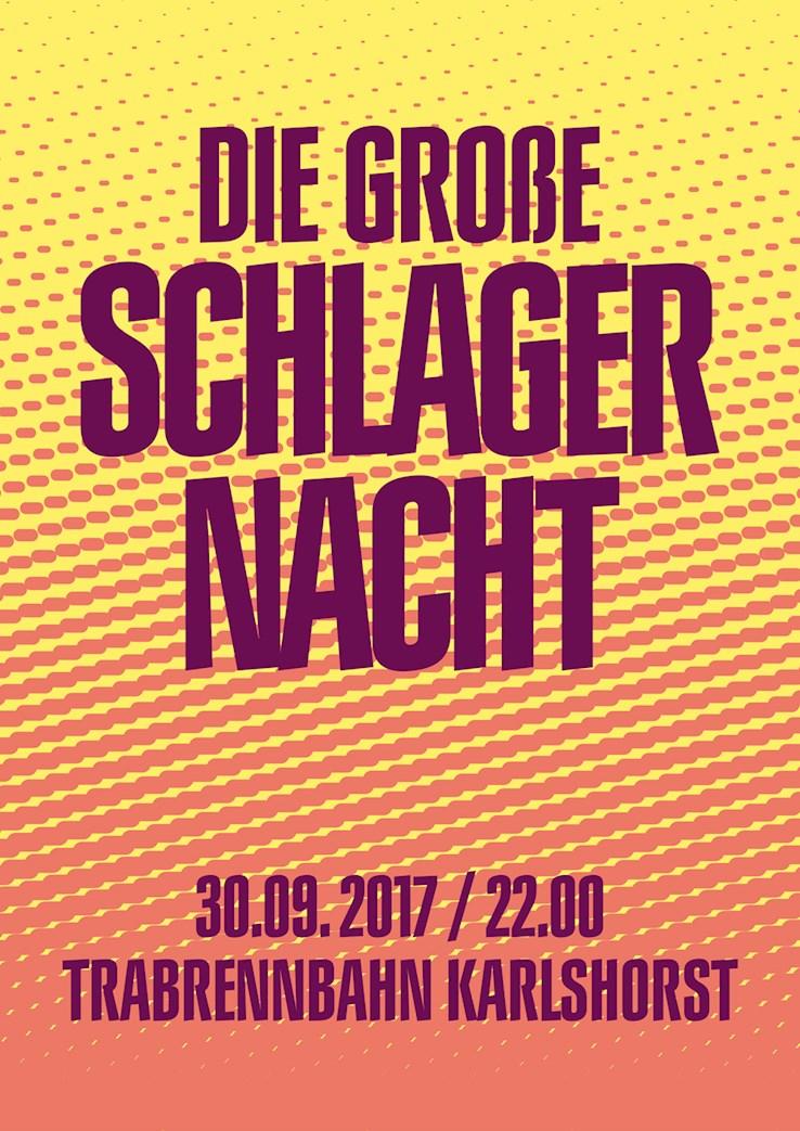 Trabrennbahn Karlshorst 30.09.2017 Die große Schlagernacht
