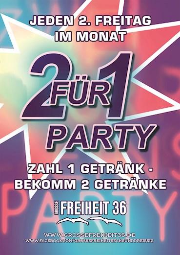 Große Freiheit 36 Hamburg Eventflyer #1 vom 12.08.2016