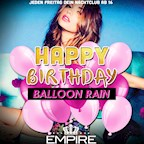 Empire Berlin Club Room | Happy Birthday