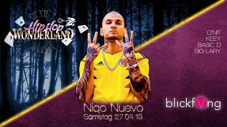 Die Insel 27.04.2019 Hip Hop Wonderland & BlickfVng - Niqo Nuevo Clubshow