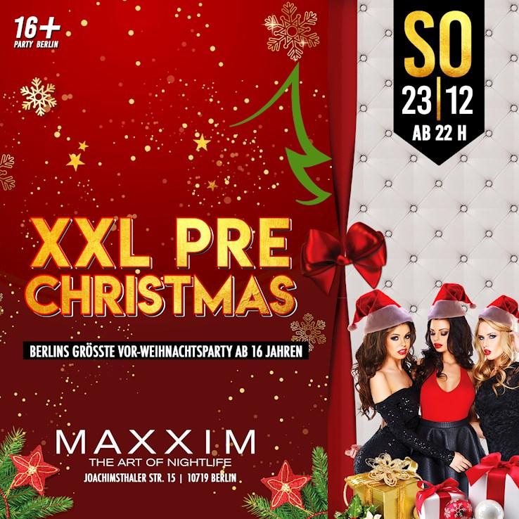 Maxxim Berlin Eventflyer #1 vom 23.12.2018