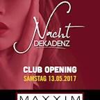Maxxim Berlin Nacht Dekadenz Opening