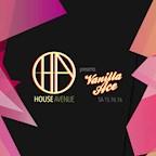 Avenue Berlin House Avenue presents Vanilla Ace