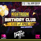 Traffic Berlin Nightroom | Birthday Club #DasOriginal