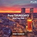 Puro Berlin Puro Thursdays Roof Top Club