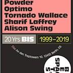 Else Berlin 20 Years Beats In Space w. Tim Sweeney, Powder, Optimo