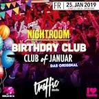 Traffic Berlin Nightroom | Birthday Club #DasOriginal