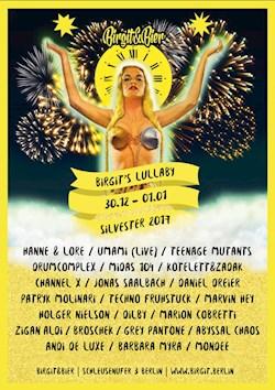 Birgit & Bier Berlin Birgit's Lullaby - New Year's Weekend on 5 Floors