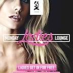 Felix Berlin Felix Monday Ladies Lounge, powered by 93,6 JAM FM - Free Entry for Ladies