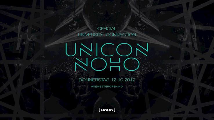 NOHO Hamburg Eventflyer #1 vom 12.10.2017