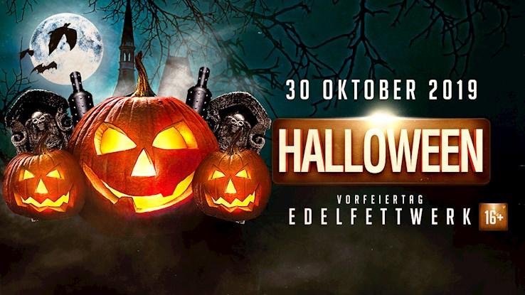 Edelfettwerk Hamburg Eventflyer #1 vom 30.10.2019