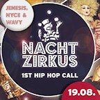 Moondoo Hamburg Nachtzirkus - 1st Hip Hop call