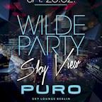 Puro Berlin Wilde Party - Sky View