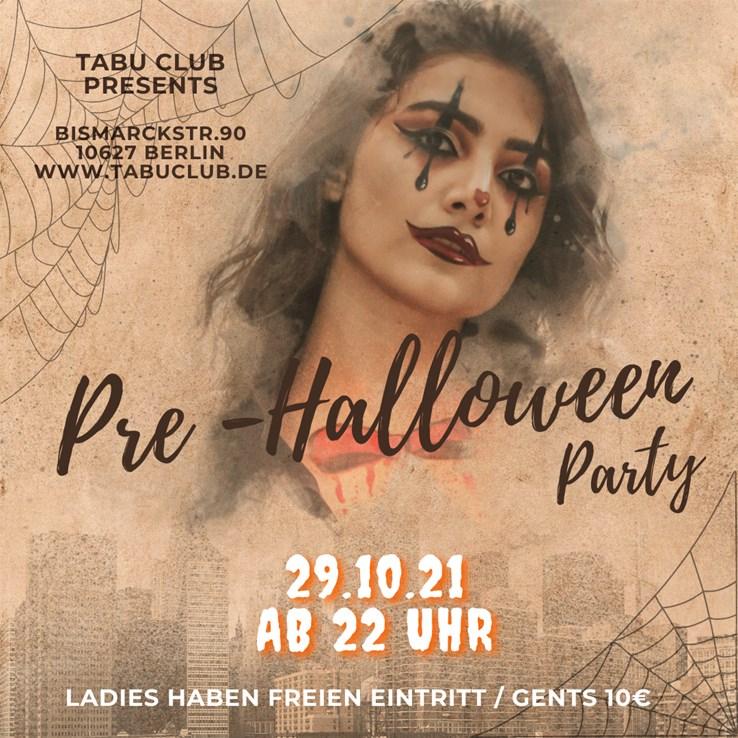 Tabu Bar Berlin Eventflyer #1 vom 29.10.2021