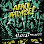 Musik & Frieden Berlin HipHopPartysBerlin präsentiert: Afrokalypse Opening 2017