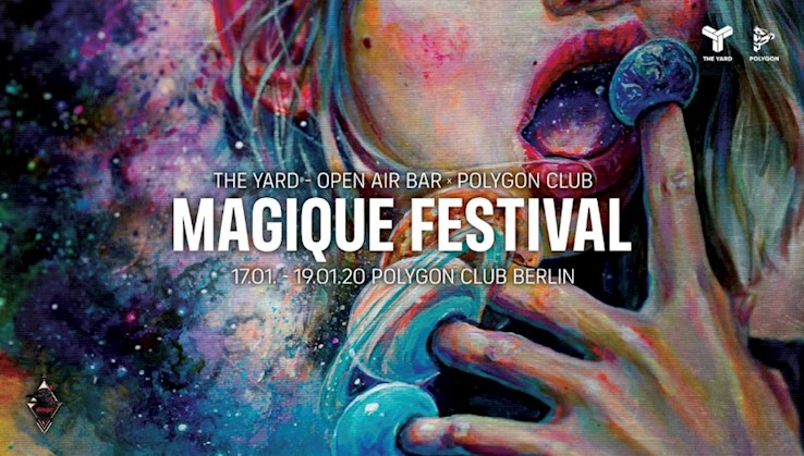 Polygon 17.01.2020 Magique Festival - New Happiness