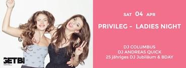 Privileg Hamburg Eventflyer #1 vom 04.04.2015