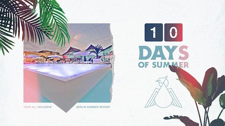 Haubentaucher 08.08.2020 10 Days Of Summer // Best Day Ever Edition