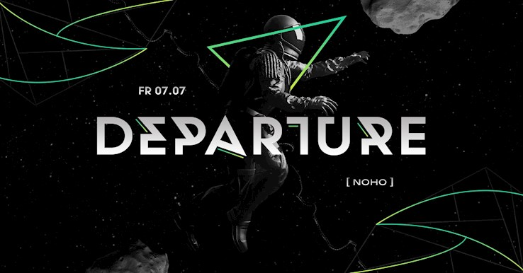 NOHO Hamburg Eventflyer #1 vom 07.07.2017