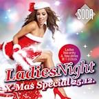 Soda Berlin Ladies Night X-Mas Special