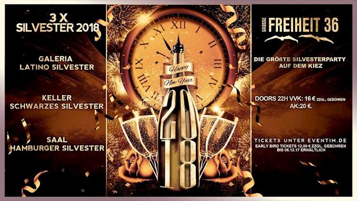 Große Freiheit 36 Hamburg Eventflyer #1 vom 31.12.2017