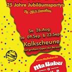 Kalkscheune Berlin Ma Baker Party 25 Years