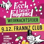Frannz Berlin Fisch sucht Fahrrad - Weihnachtsfeier
