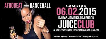 Juice Club Hamburg Eventflyer #1 vom 06.02.2016