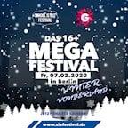 Kesselhaus Berlin Das 16+ Mega Festival - Winter Wonderland