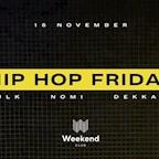 Club Weekend Berlin Hip Hop Friday - view over Berlin - Special DJ from Belgium
